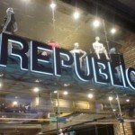 Illuminated Letters Shop Signs London - Republic Retail Shop