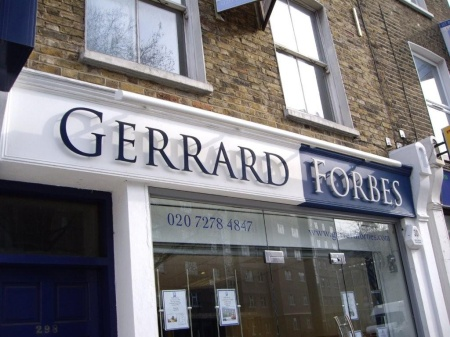 Letter Signs London - Flat Cut Acrylic Letters