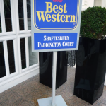 Floor Standing Signs London - Best Western