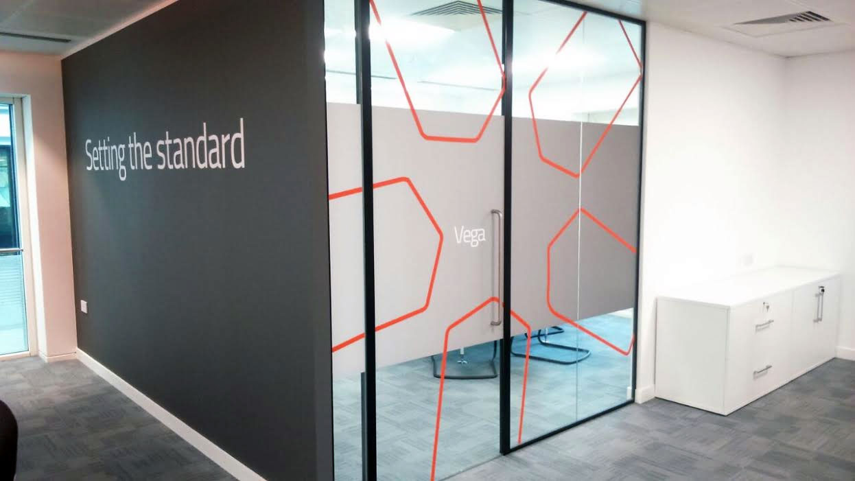Office Signs London for Polaris, Window Vinyl Signs